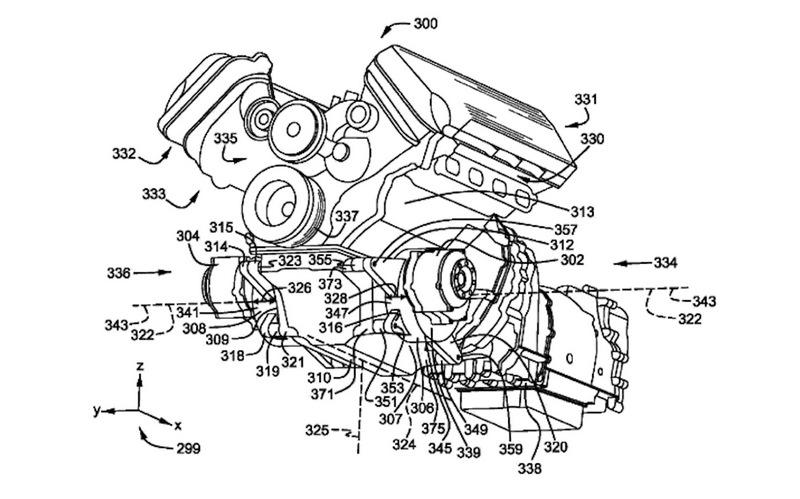 日前Ford提交V8油電引擎專利,有可能是Mustang將會有油電版本,但有可能會是搭載於F-150。