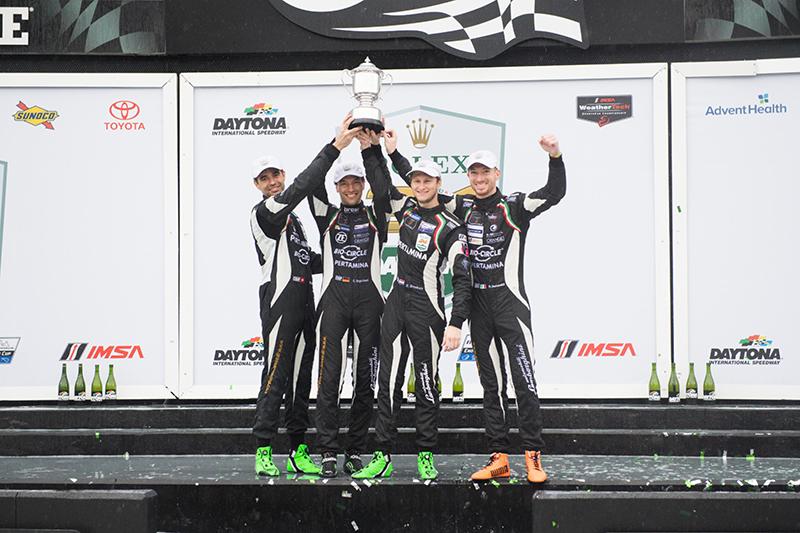 Lamborghini蟬聯Daytona 24小時耐久賽冠軍。