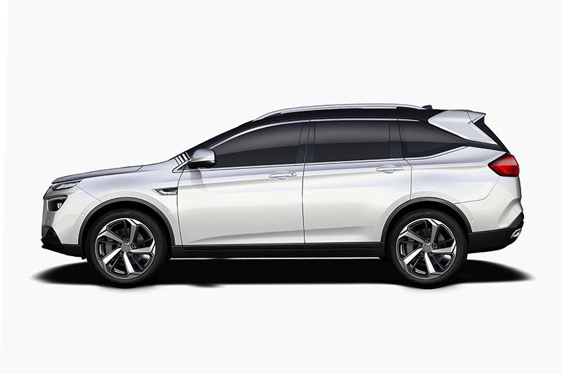 即將登場的URX不僅具備七人座大機能,同時也是款造型俊逸的Crossover。