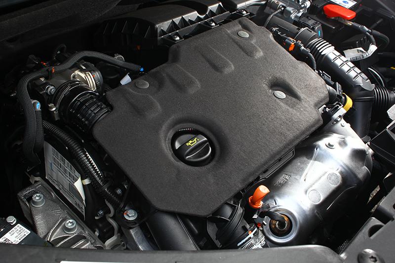全新1.5升渦輪增壓柴油引擎,可發揮130hp最大馬力與30.6kg-m峰值扭力。