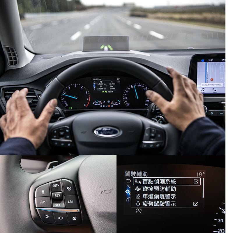 全新配置之Co-Pilot 360駕駛輔助系統,已具備Level2半自動駕駛等級,可容許駕駛放手行駛約15秒的時間,若當駕駛者失去意識,系統偵測駕駛始終未介入駕駛,就會自動將車輛緩減速至10km/h後緩慢行進,若當偵測到標線不明時,更會自動緩煞至停止,讓外界可以注意到該車並救援。