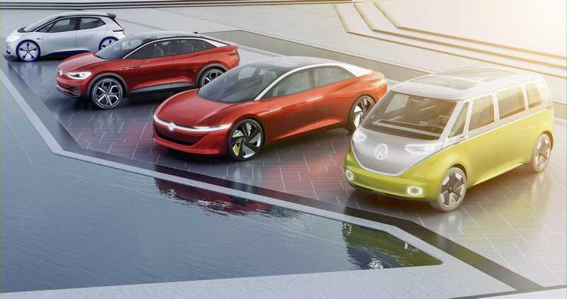 Volkswagen計畫在2023年前斥資90億歐元施行電動車研發計畫,於2025年前推出20款以上之電動車款。
