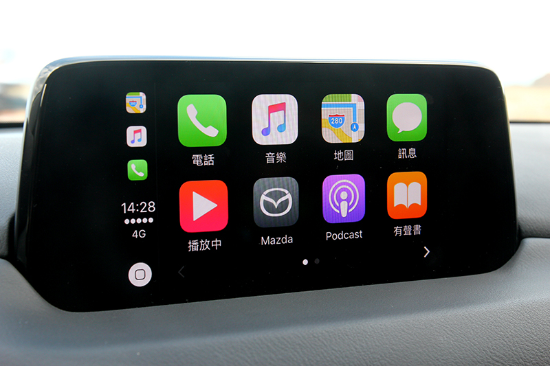Apple Carplay當然也有配置,因這已是CX-5標配。