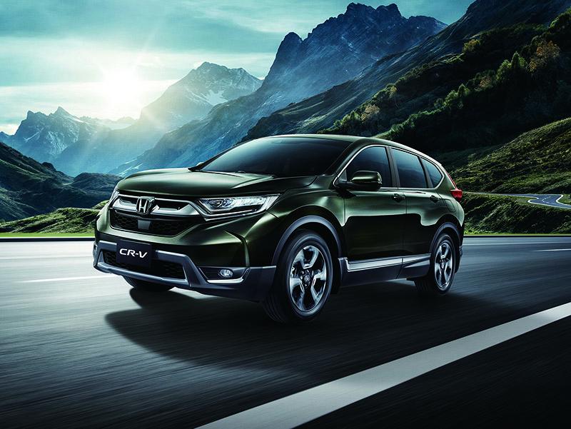 CR-V熱銷,讓Honda在2018年的全年銷量成長14%。