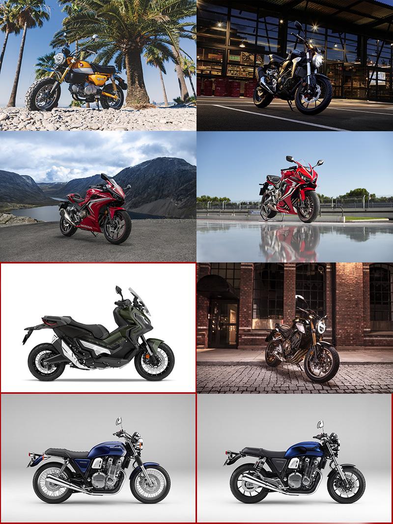 Honda二輪事業將在2019引進包括:Monkey、CB300R、CBR500R、CB1100EX等多款新車。