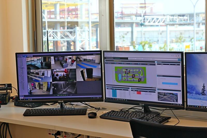 行控中心可以觀測測試場地一切狀況。