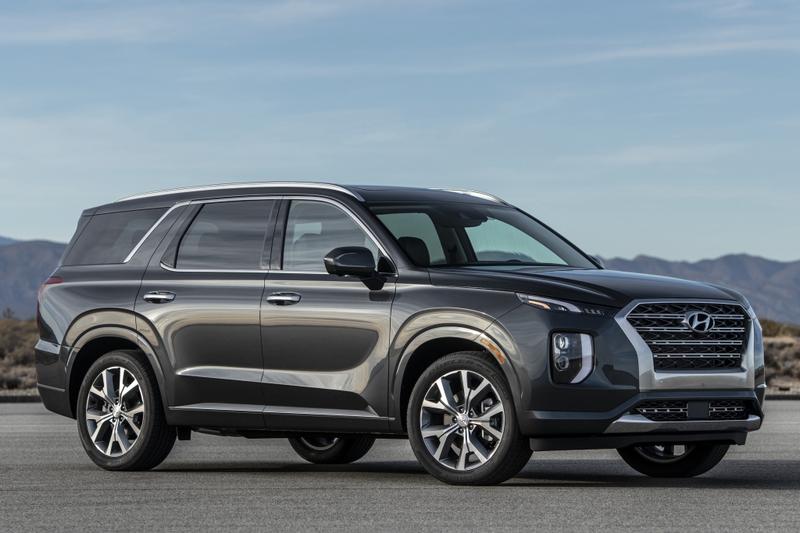 旗艦大型SUV Palisade將於年底登場。