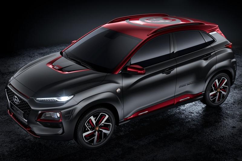 全球限量7000輛的Kona Iron man特仕車,台灣將導入50輛配額。