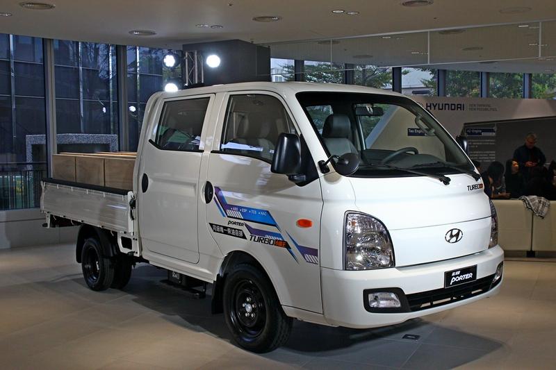 七月份會替Porter增加雙廂車型以增加乘坐實用性。