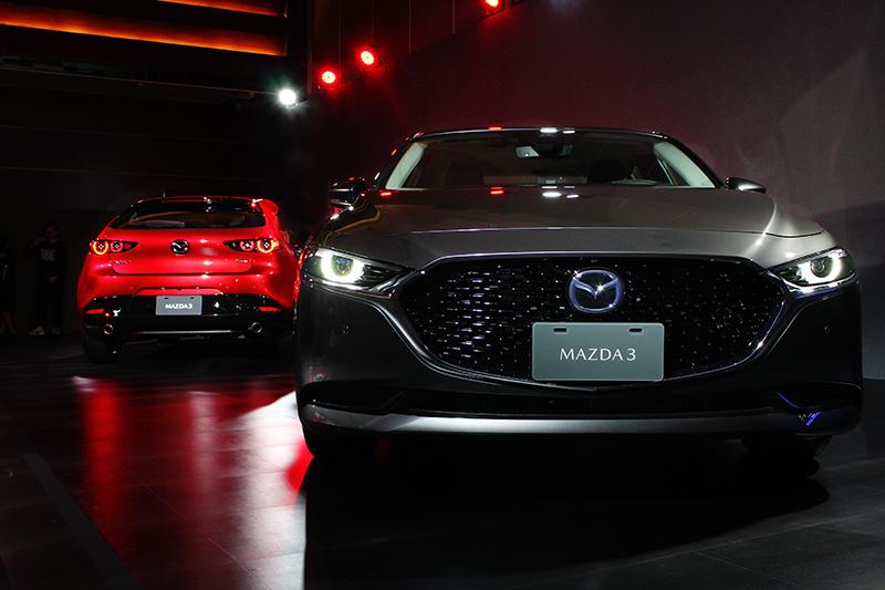 Mazda 3四門與五門都會同步登場。
