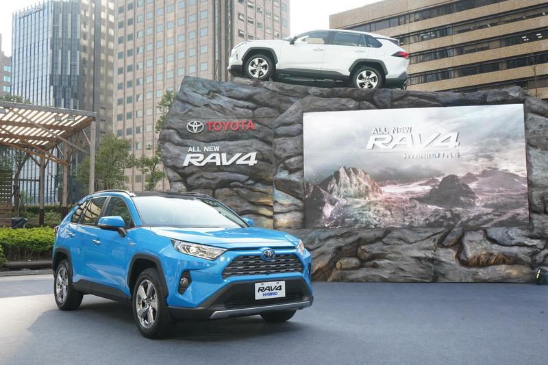年銷售3萬輛的目標,我看也只有Toyota RAV4敢出此誑語了!
