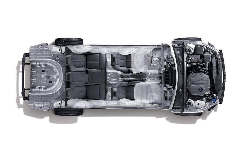 第三代平台採用熱沖壓處理製程,除了提升車身結構剛性強度,車身重量也比以往更輕改善油耗表現。