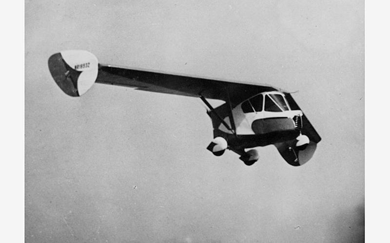 1937年推出的Waterman Arrowbile已能於天空中飛行。