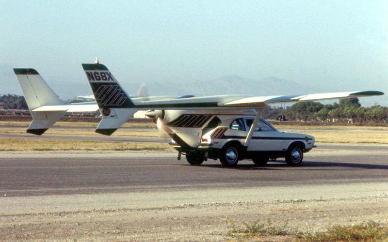 1971年AVE Mizar只是車尾加上機翼,好像少了點創意跟設計。
