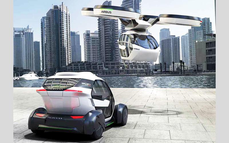 未來若真推出飛行汽車,或許大概會是長這樣吧,但不知為何造型設計都偏向飛機。