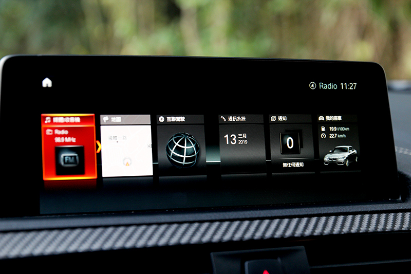 8.8吋中控螢幕提供絕佳操作體驗,但相信多數駕駛會時常專注於性能的反應。