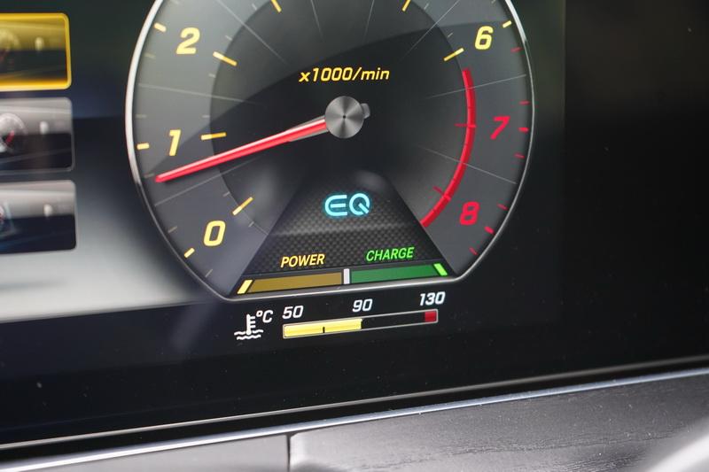 導入EQ Boost技術後,其電動馬達可再額外提供14匹馬力的力道輔助