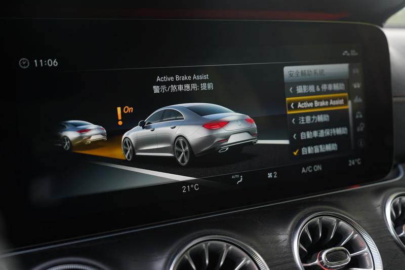 豐富的主、被動安全配備向來是Mercedes-Benz的堅持