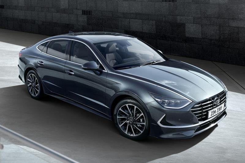 新Sonata搭載第三代平台,並提供1.6升渦輪、2.0升與油電動力。