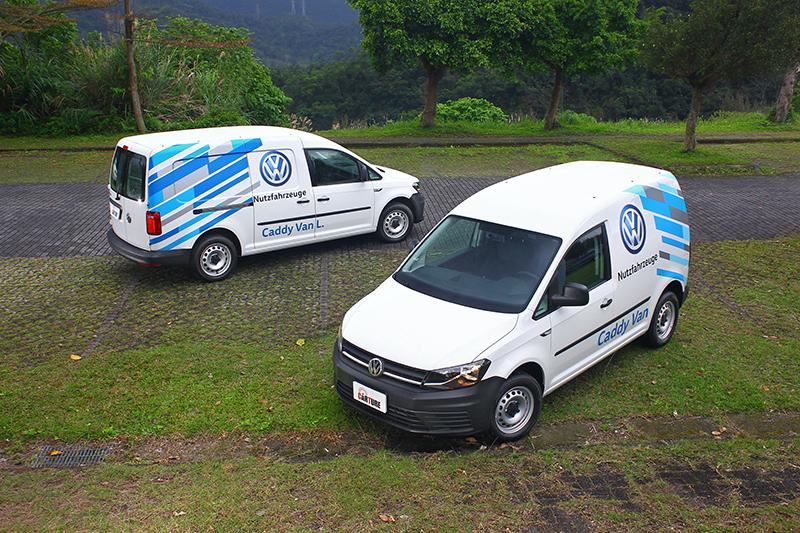 無論Caddy Van或Caddy Maxi Van,皆具備歐洲風情洋溢的設計筆觸。