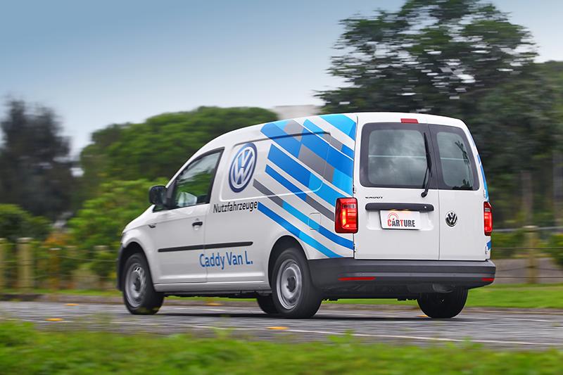 受惠於輸出更大,Caddy Maxi Van開起來更加流暢俐落。