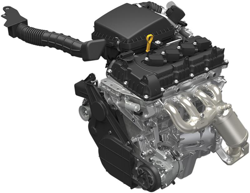 動力系統為一具1.5升自然進氣引擎。