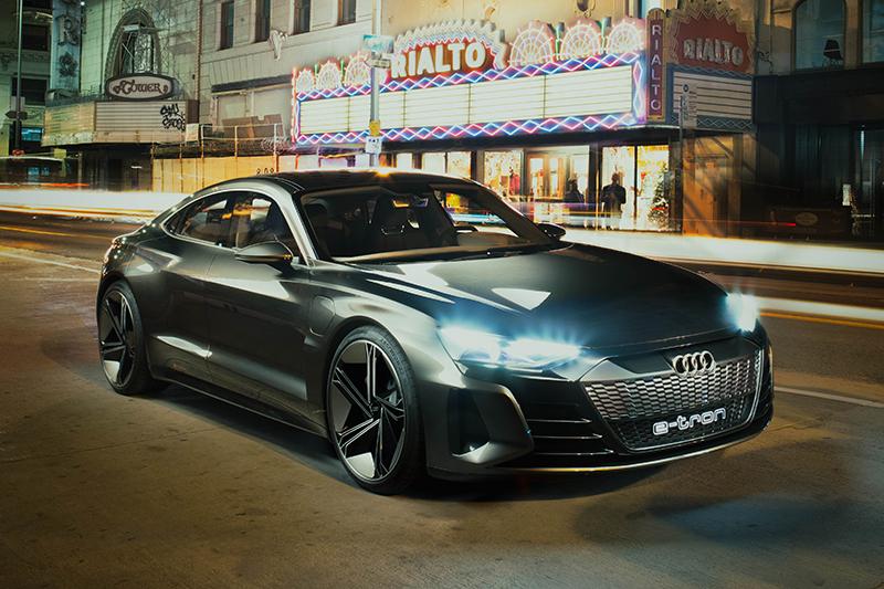 這輛Audi e-tron GT Concept有出現在《復仇者聯盟:終局之戰》裡,這樣算爆雷嗎?
