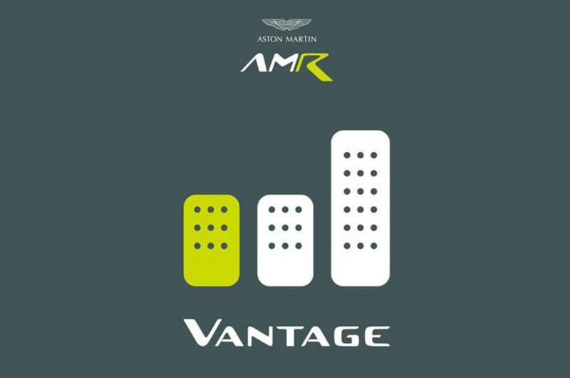 Aston Martin預告將會有手排Vantage AMR。
