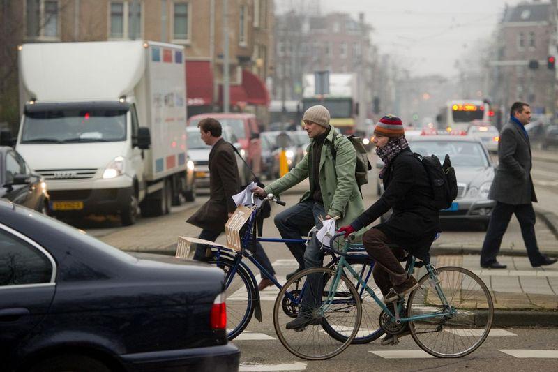 阿姆斯特丹也有意於2030年擴大環保區,該區域非零排放車輛不得進入。
