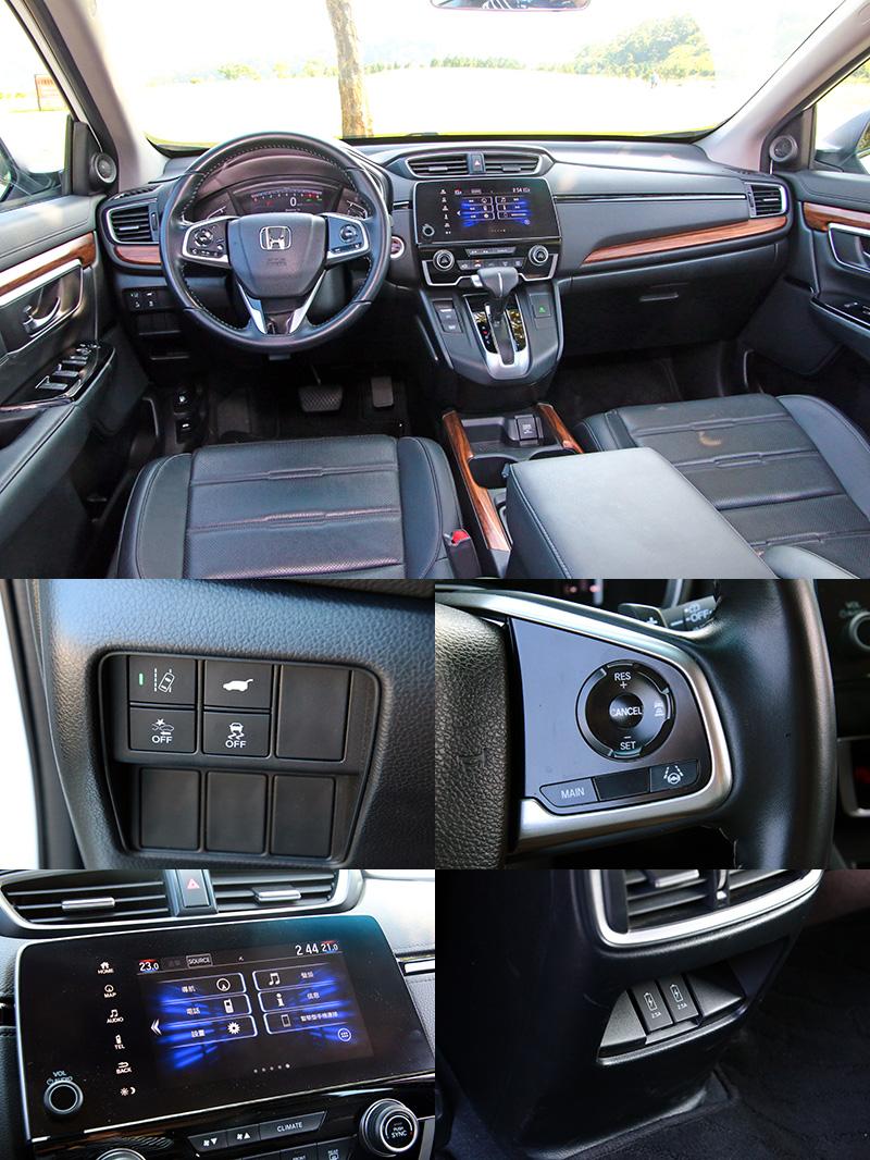 CR-V在配備上中規中矩,車內有最多的置物空間與USB連接埠,便利性高。