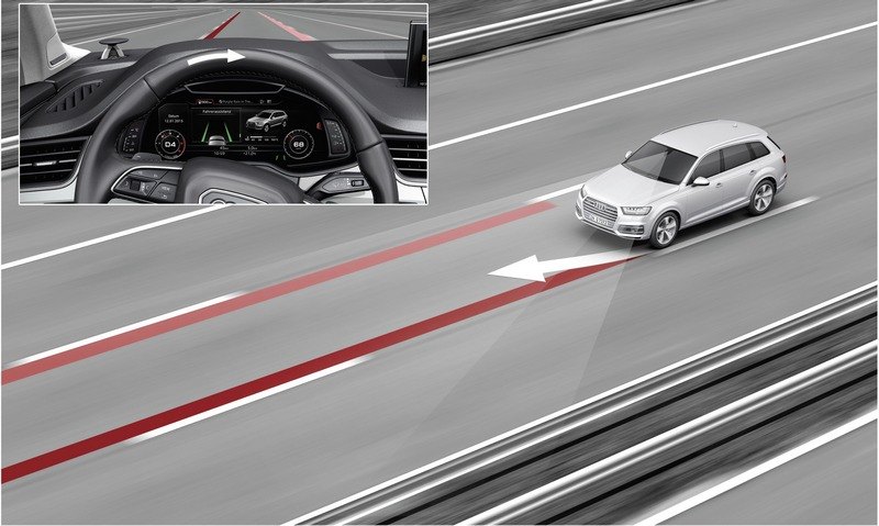 A3 Sportback還額外增加ACC主動式定速巡航控制系統與感應式鑰匙等配備。