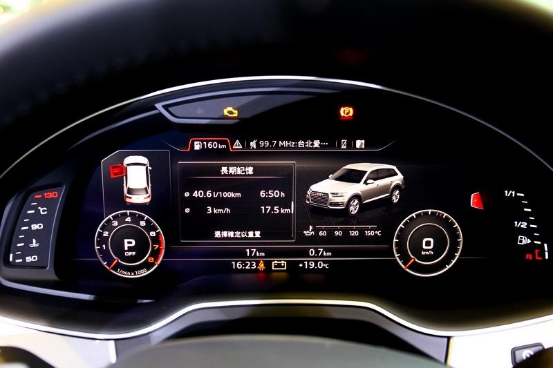 Q7配置全數位虛擬座艙、360度全視角顯影等配備。