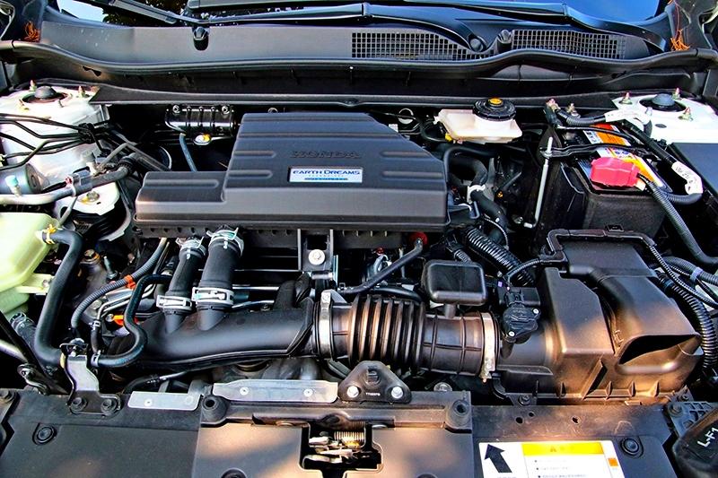 193hp/24.8kgm的動力讓CR-V擁有頗具衝勁的步調。