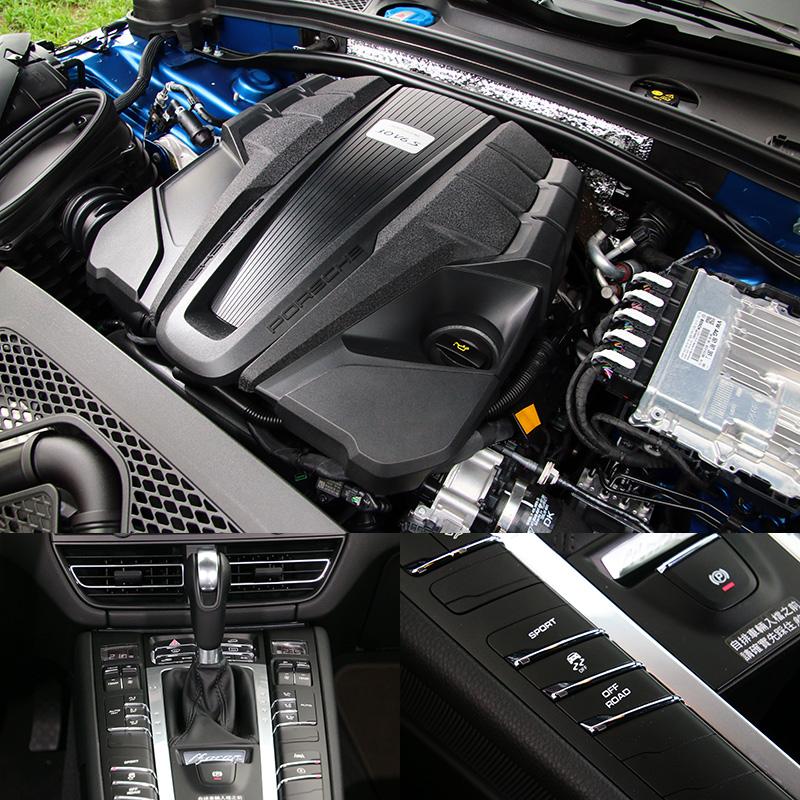 Macan S換裝了3.0升單渦輪V6引擎,動力數據有所提升,中高速動力延伸性更佳。