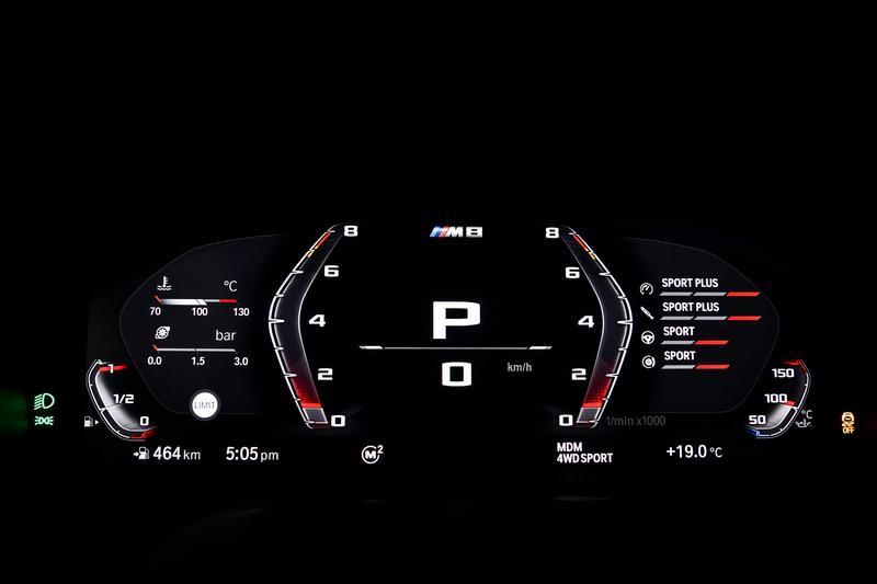 M8可針對動力、懸吊、轉向、煞車與驅動進行調整。