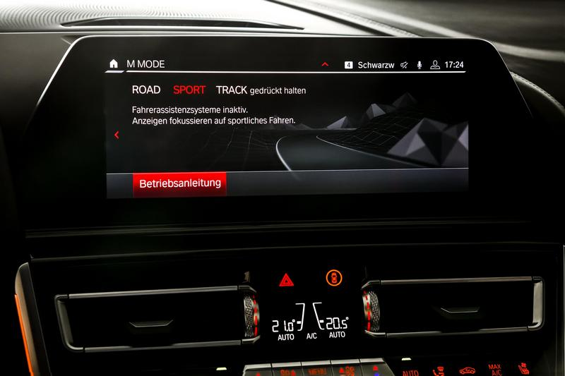 M Mode功能鍵具有Road與Sport模式外,M8 Competition車型更有Track模式。