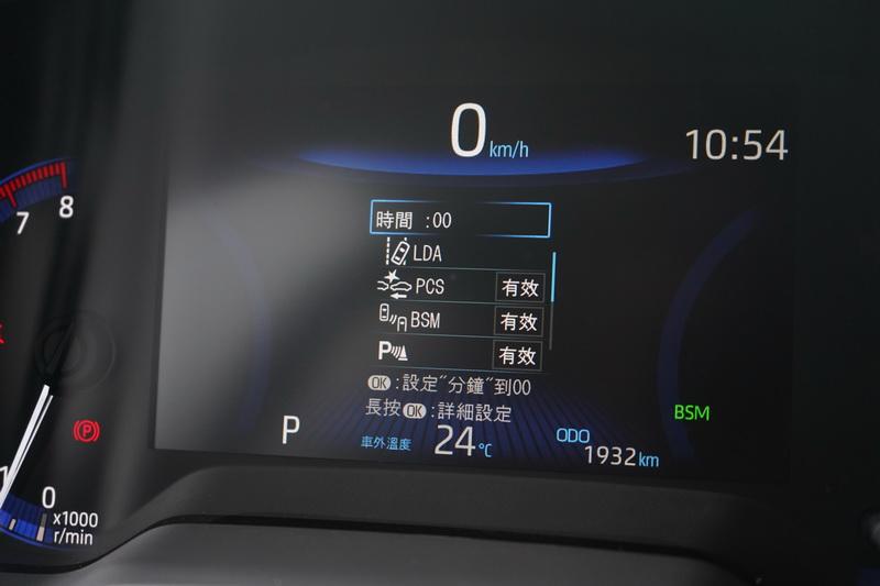這次強打的TSS主動安全系統為Altis全車系標準配備