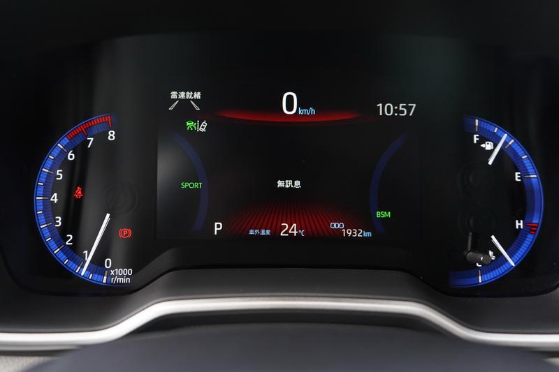 7吋數位儀表讓車艙的科技感瞬間提升不少