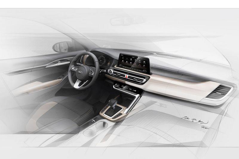 座艙採用10.25吋螢幕並減少按鍵配置,及筆直線條以營造出簡約氛圍。