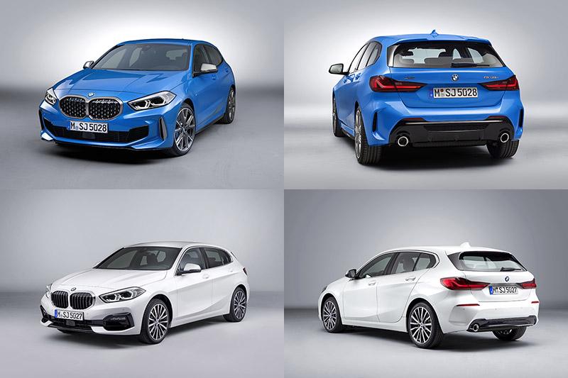 藍車為M135i xDrive,白車為118i。