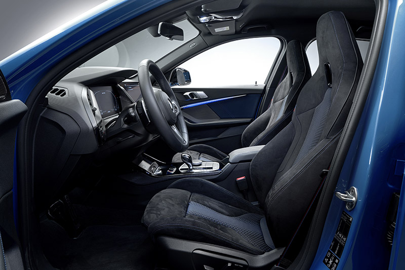M135i xDrive座椅配置