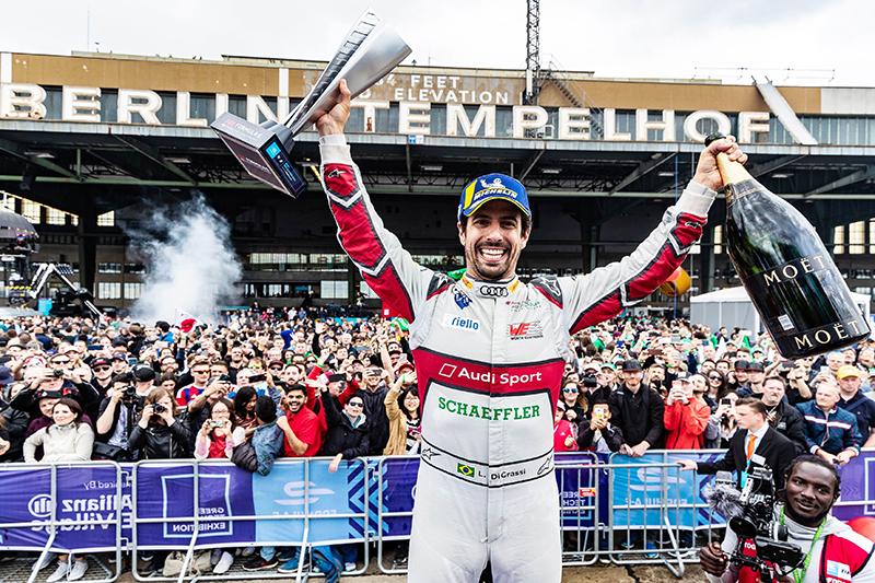 最終Lucas di Grassi成功奪下分站冠軍。