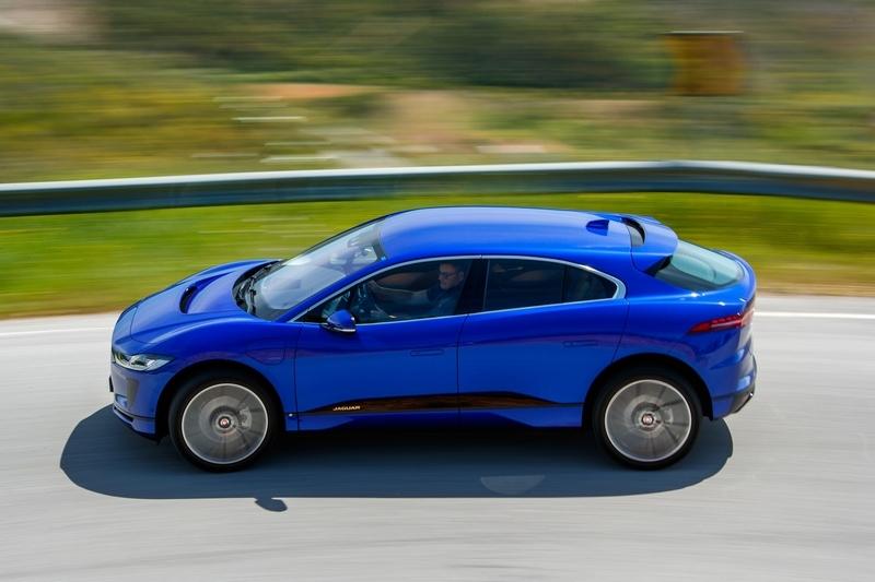 關於電動車Jaguar其實已有因應產品與規劃。