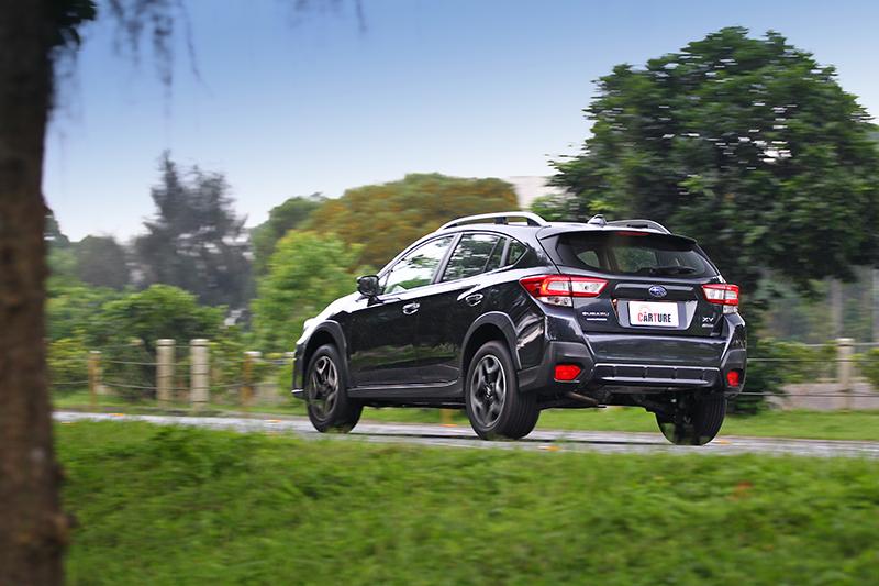 透過Subaru Global Platform全球模組化底盤而來,SUBARU XV的紮實車體造就絕佳抗扭曲性與底盤剛性。
