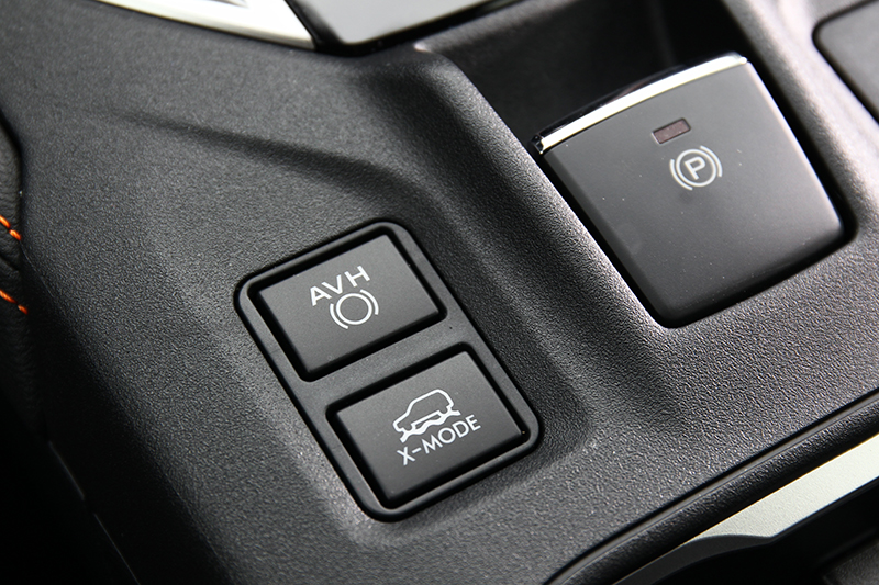 X-Mode系統可整合引擎輸出、變速箱齒比、煞車系統以及SAWD輸出比例。