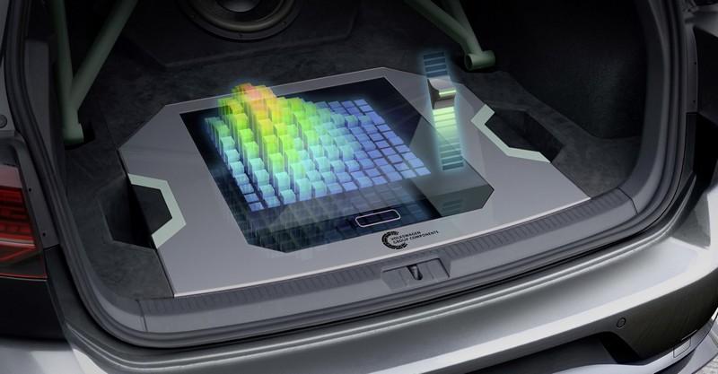 Golf GTI Aurora導入3500W音響系統及投影技術。