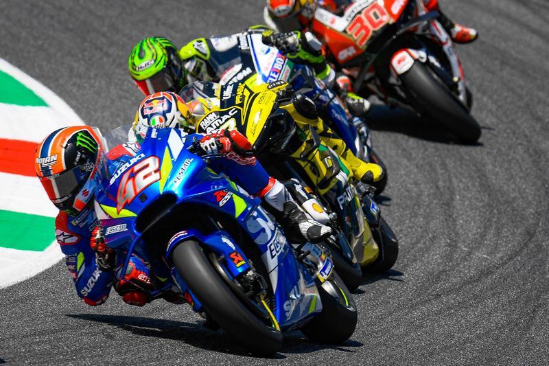 Rins依舊保有強大競爭力甚至有機會奪冠,但在直線路段則無法守住Ducati加速攻勢。