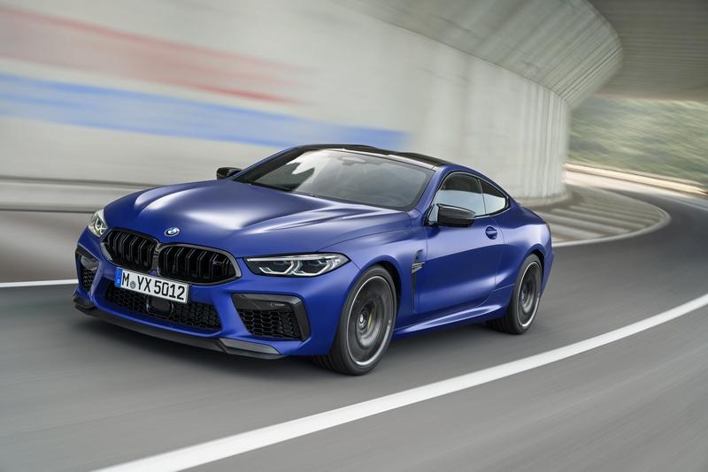 M8搭載4.4升V8 M TwinPower Turbo渦輪引擎,具有600hp/76.5kgm動力。