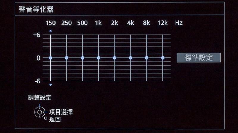電視音效表現的成績,對於許多用家來說相當重要,因此 TH-55GX750W 選擇提供豐富的聲音設定參數,讓用家可以依據觀賞的節目類型,設定不同聲音模式,而擁有金耳朵的玩家,則可以利用聲音等化器,調整不同頻率的音量,設置符合觀賞環境特性的最佳聲音表現。且 TH-55GX750W 支援杜比全景聲(Dolby Atmos),能夠重現電影中環繞音效,帶來最逼真的觀影體驗。