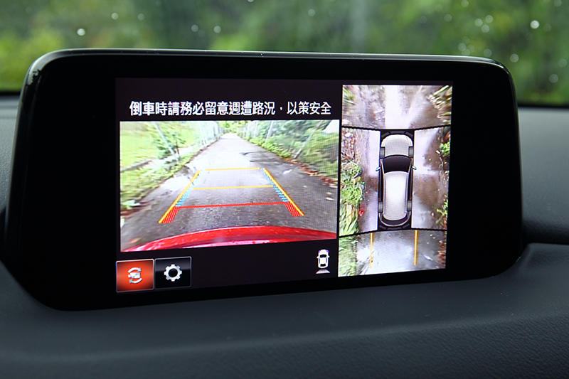 360度環景輔助系統,是停車時的得力助手!